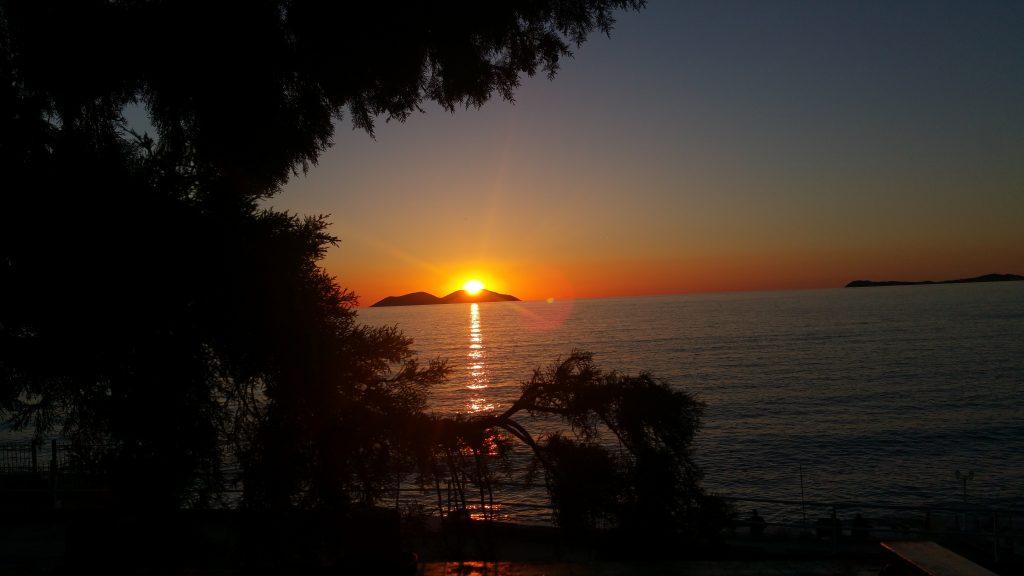 la douceur des températures donnent envie de sortir et faire du gonflage pour aller voler au coucher du soleil.